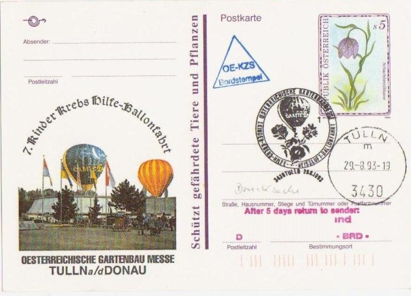 private Zudrucke - Ballonpost Forum119