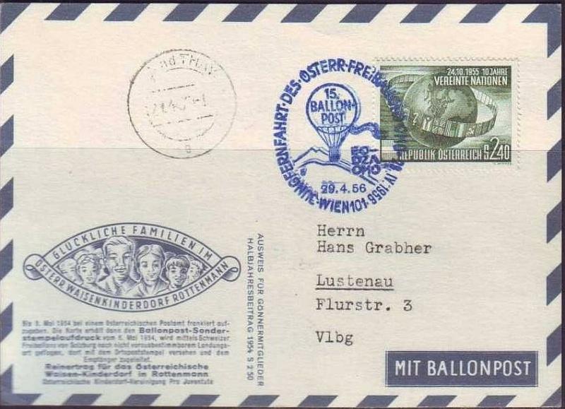 ballonpost - Ballonpostflug Pro Juventute Forum_42