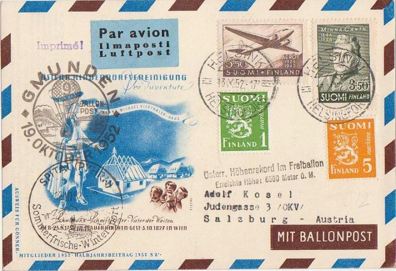 ballonpost - Ballonpostflug Pro Juventute Forum_50