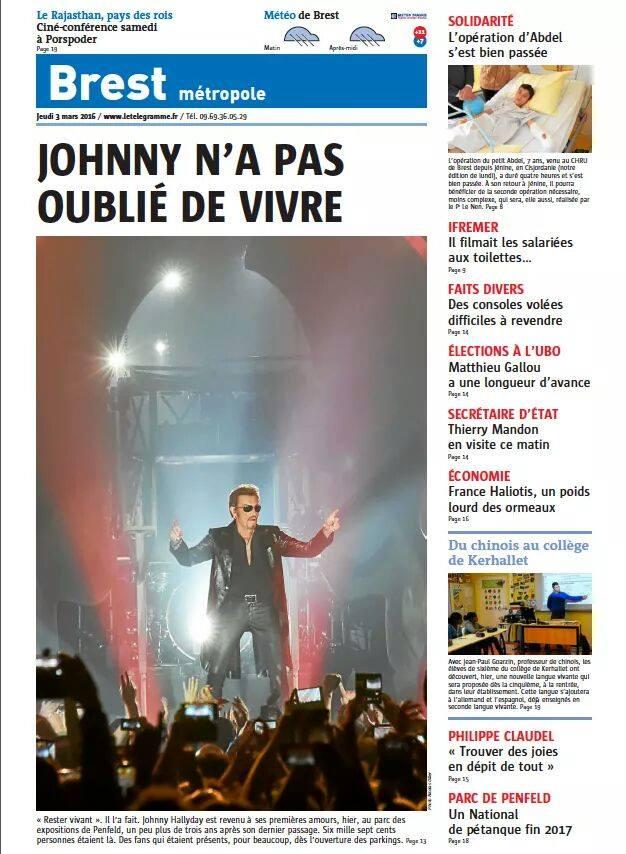 """Tournée 2015/2016 de johnny """"RESTER VIVANT """" Part 2..LA TOURNEE - Page 2 12800310"""