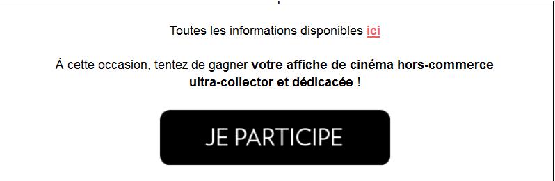 Gagner l'affiche dedicacée ultra collector de johnny du concert retransmis au cinema Captur21