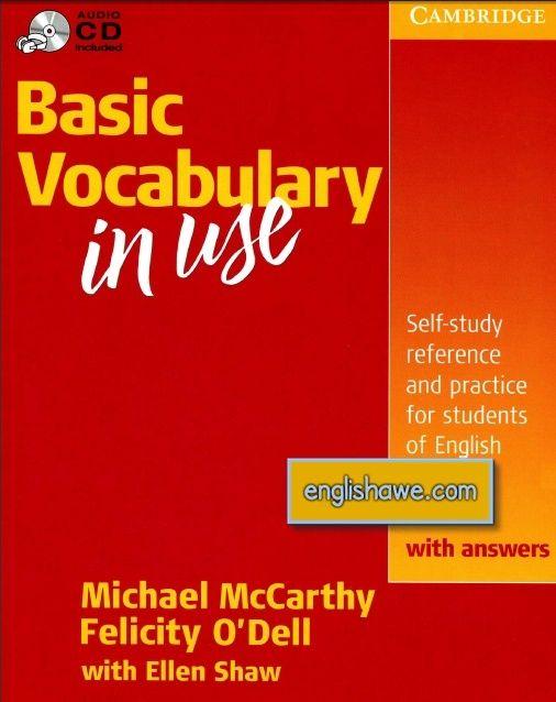 حصريا تحميل كتاب Basic Vocabulary in Use من جامعة كامبريدج 111