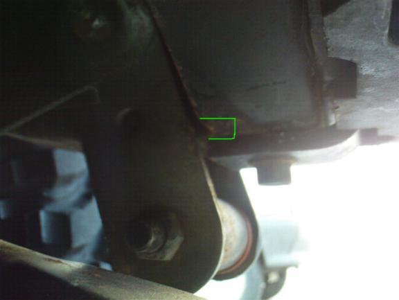 découpe traverse Ar sur YJ pour les jumelles Dsc00110