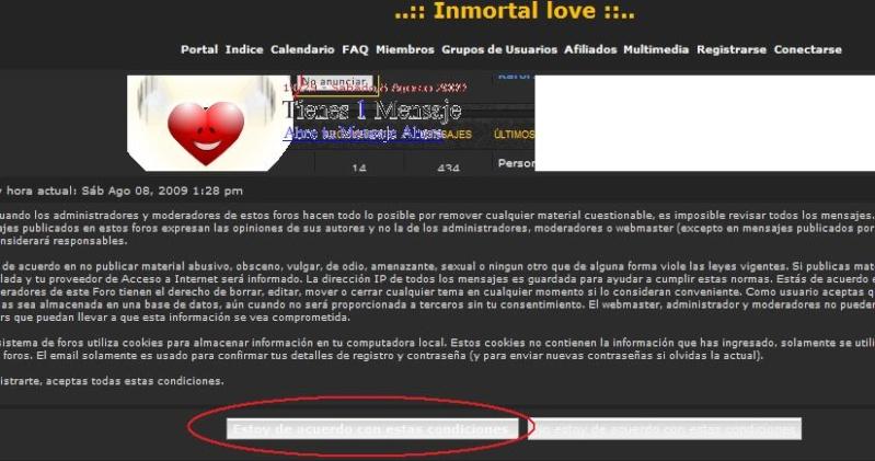¿Cómo formar parte de la comunidad Inmortal Love? 212