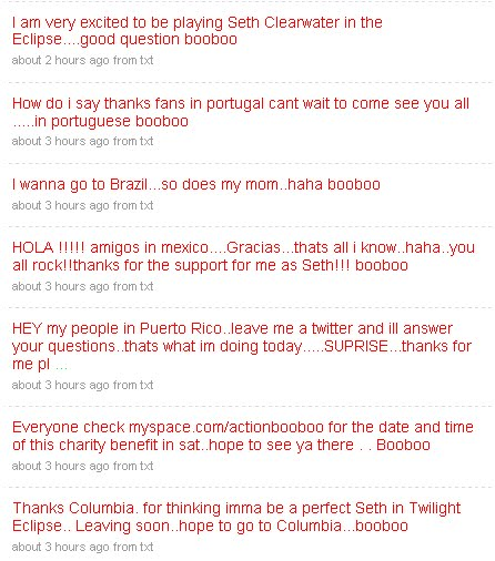 Boo Boo Stewart / Julia Jones / Tinsel Korey - Página 2 Bobobo10