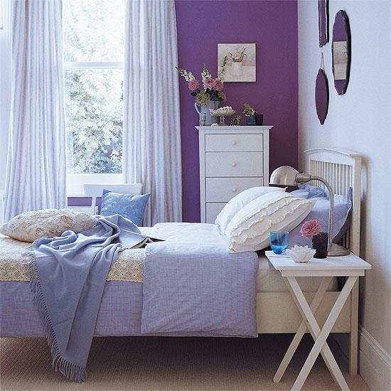 chambre de jeune fille, choix des couleurs, style romantique 08122911