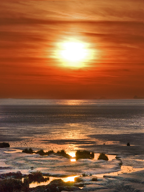 seaside sunset Sunset10