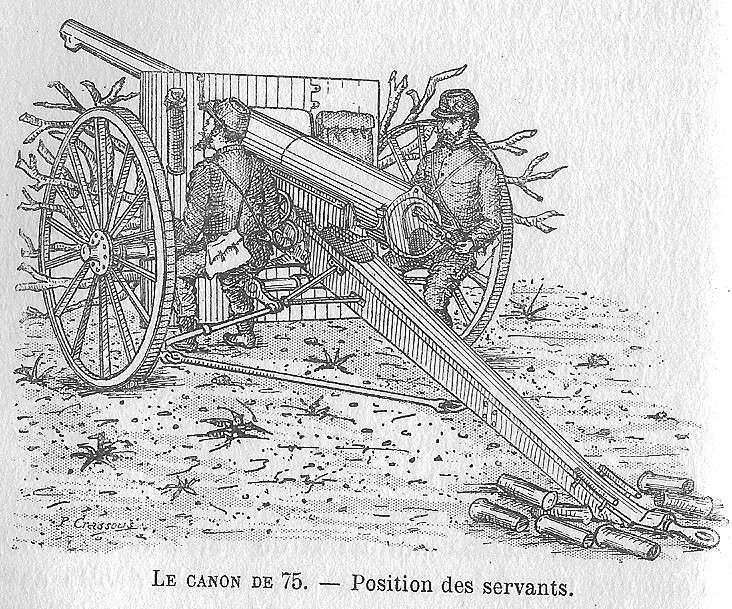L'artillerie française première guerre mondiale 7510