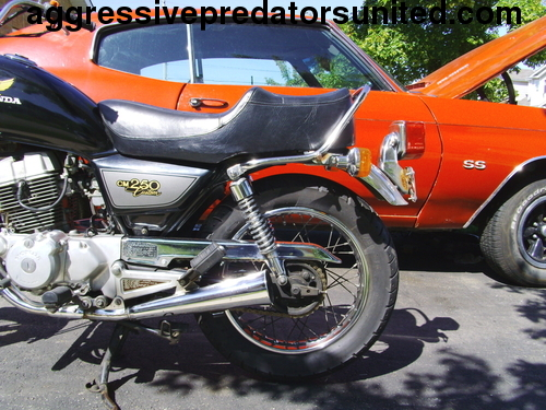 My Vintage 1982 Honda 250 LTD Edition Metal_25