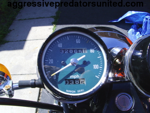 My Vintage 1982 Honda 250 LTD Edition Metal_27