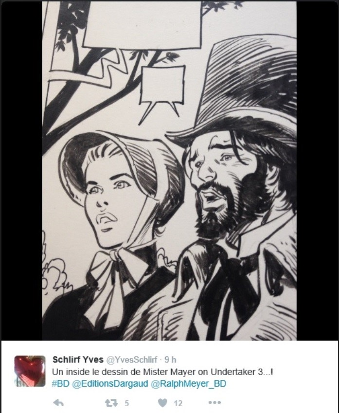 Undertaker : un nouveau western de Ralph Meyer et Xavier Dorison - Page 2 Undert13