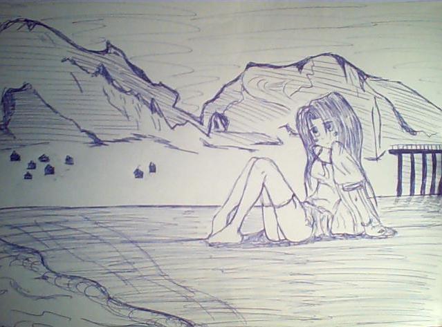 Kimiko partage ses dessins... Fille11