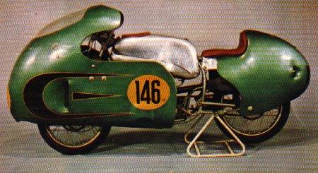 Modèles spéciaux, prototypes et motos de courses 1956-m10