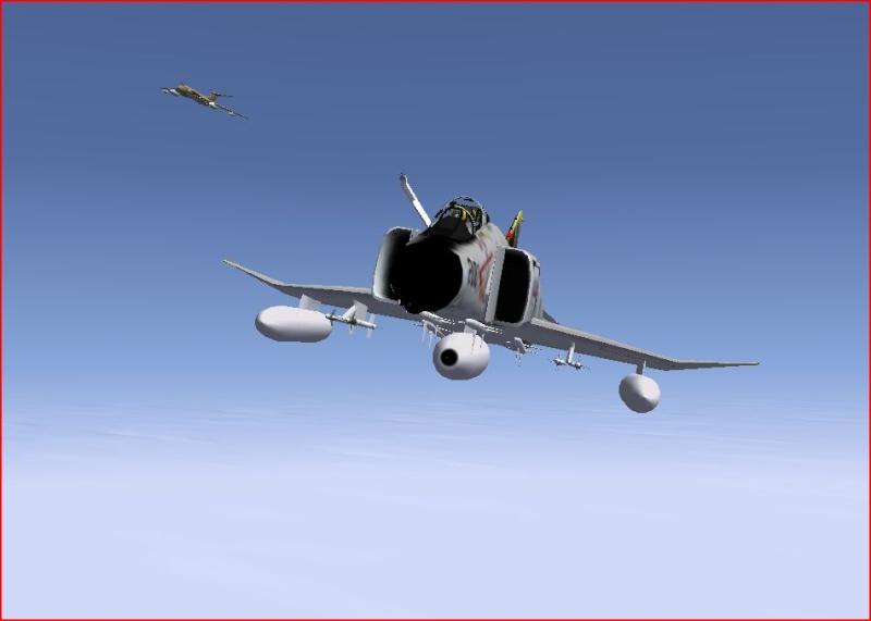 Ravitaillement en vol avec le Victor Dds10