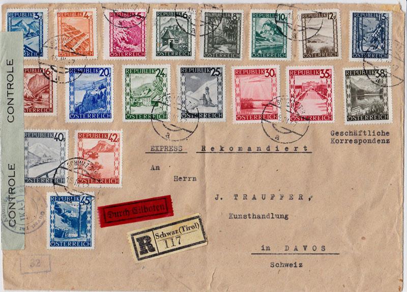 Landschaftsbilder ANK 738-766  -  Belege - Seite 7 Oester13