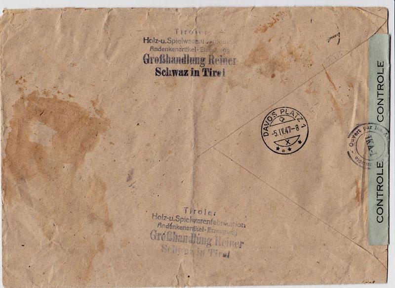 Landschaftsbilder ANK 738-766  -  Belege - Seite 7 Oester14