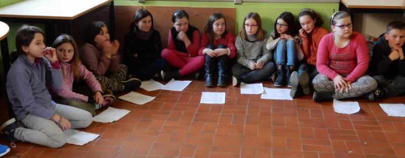Poésie des enfants en cours de l'exposition à Le Guyader Dscn2315