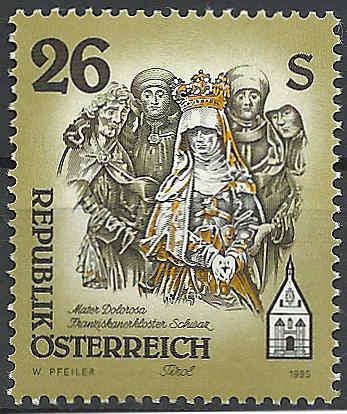 """Freimarkenserie """"Kunstwerke aus Stiften und Klöstern"""" 2600_a10"""