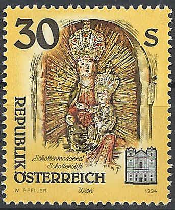 """Freimarkenserie """"Kunstwerke aus Stiften und Klöstern"""" 3000_a10"""