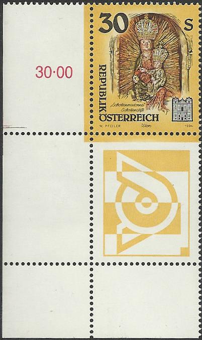"""Freimarkenserie """"Kunstwerke aus Stiften und Klöstern"""" 3000_a11"""