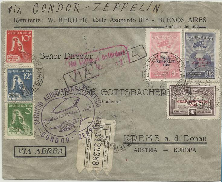 Südamerikafahrten LZ 127 1932 - Seite 2 Argent10