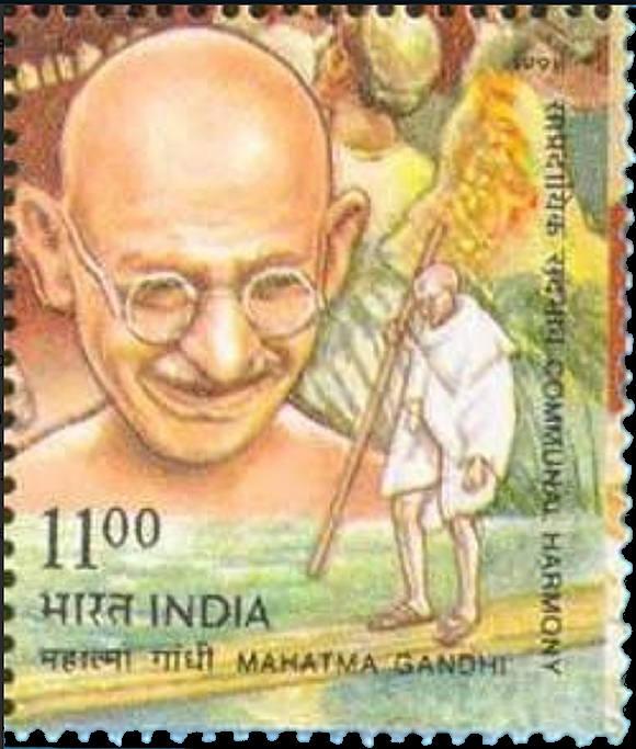 Briefmarken-Kalender 2016   - Seite 4 Gandhi10