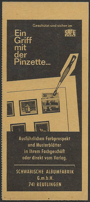 Deutschland Markenheftchen Mh10b11
