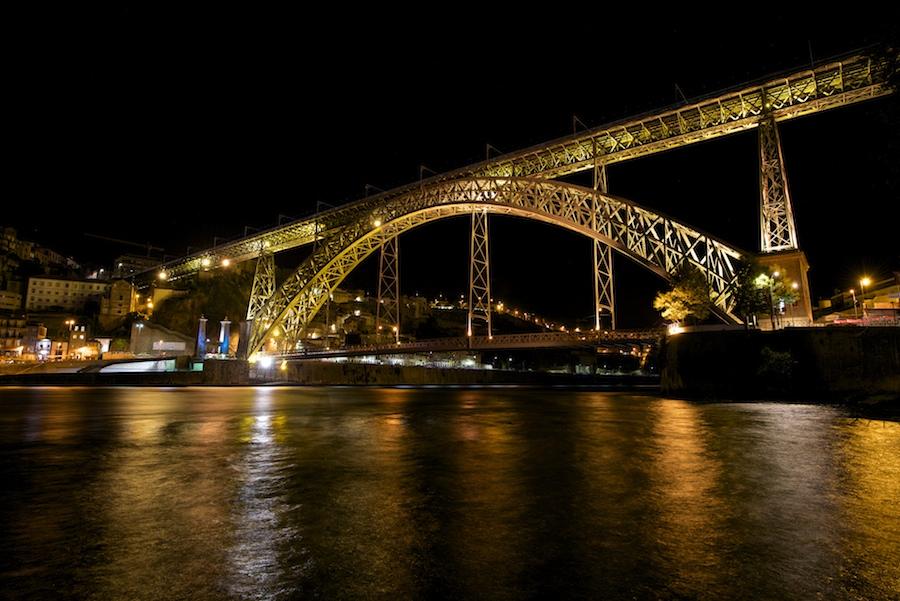 Quelques vues de nuit, de Porto : 2015-113