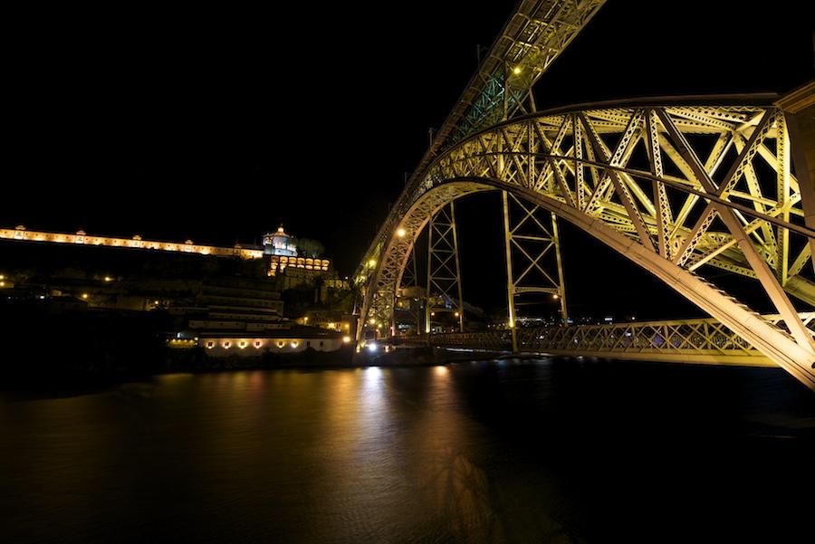 Quelques vues de nuit, de Porto : 2015-115