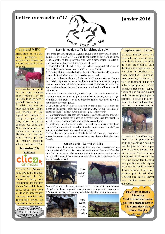 GPLV - Lettre Mensuelle n°37 - Janvier 2016 Imagep10