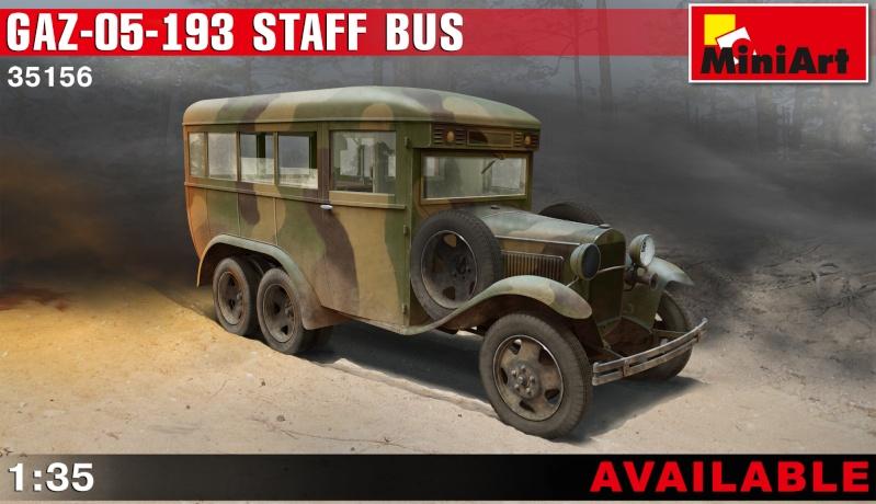 Le GAZ 05 193 Staff Bus de chez Mini Art au 1/35ème 35156_10