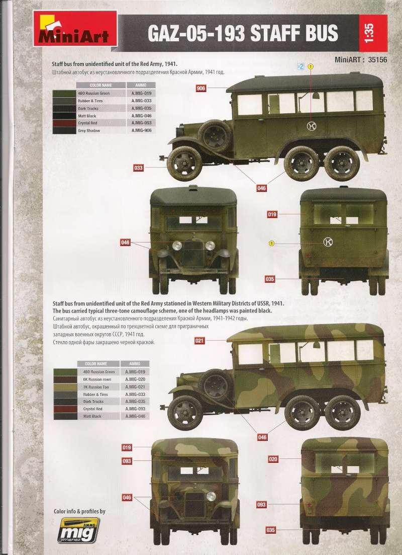 Le GAZ 05 193 Staff Bus de chez Mini Art au 1/35ème Image028