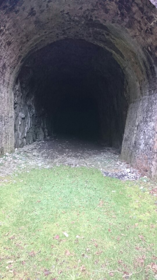 Le Tunnel  Grotte10
