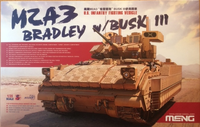 Bradley M2A3 w Busk III / US infantry fighting vehicle [Meng, 1/35] Fullsi10