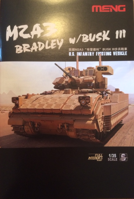 Bradley M2A3 w Busk III / US infantry fighting vehicle [Meng, 1/35] Fullsi12
