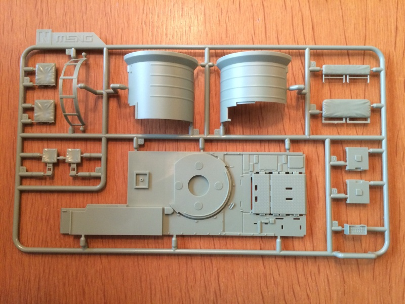 Bradley M2A3 w Busk III / US infantry fighting vehicle [Meng, 1/35] Img_5011