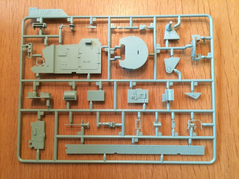 Bradley M2A3 w Busk III / US infantry fighting vehicle [Meng, 1/35] Img_5013
