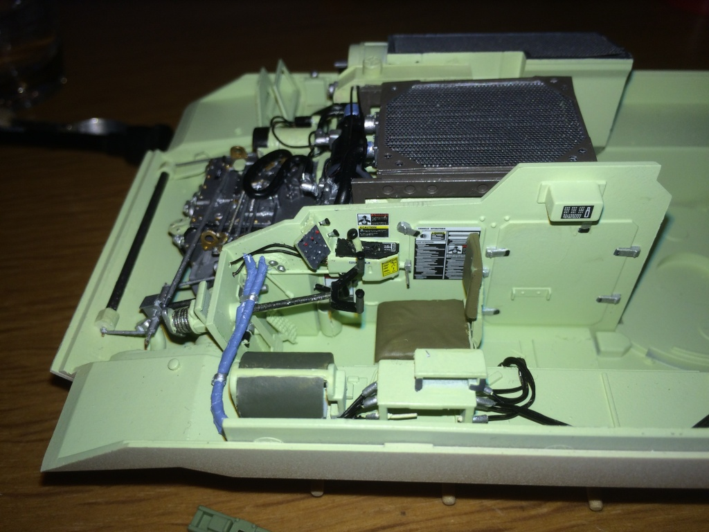 Bradley M2A3 w Busk III / US infantry fighting vehicle [Meng, 1/35] - Page 5 Img_5348