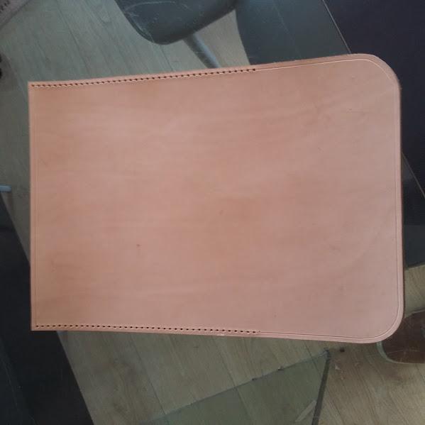 Fabrication d'un rollbag + poignées en cuir   20160211