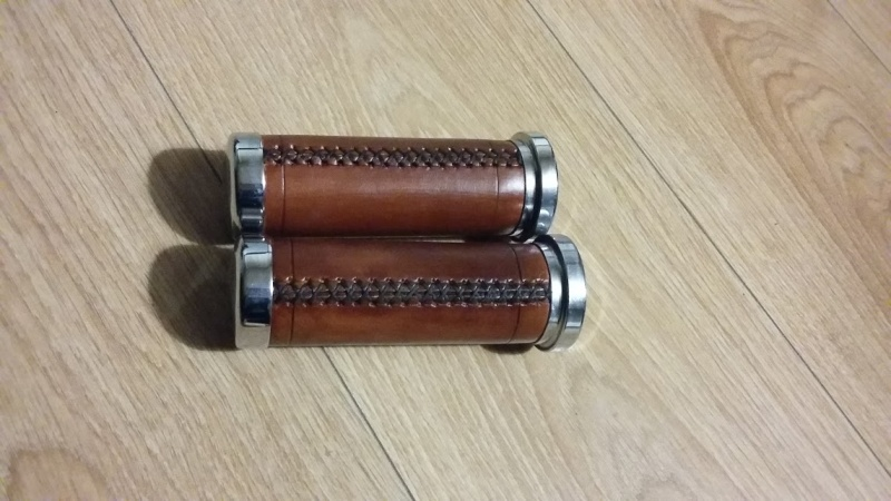 Fabrication d'un rollbag + poignées en cuir   20160216