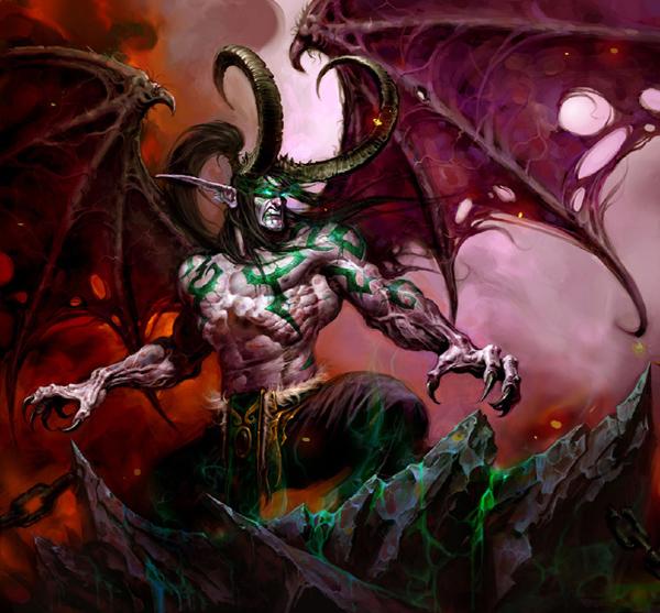 Illidan Stormrage, The Betrayer Illida11