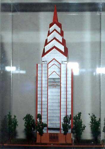 نمادهای شبکه منفي در تهران (ساختمان بانک قوامين) Obelis23