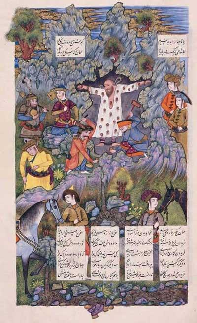 نمادهای شبکه منفي در ايران (دماوند و فرقههاي رازآميز) Zahhak10