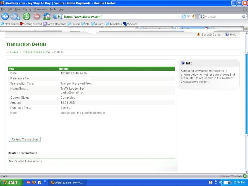 MySecond Payment Tlb10