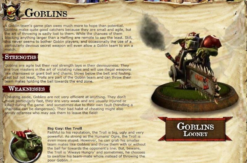 THE TEAMS - The Villians Goblin10