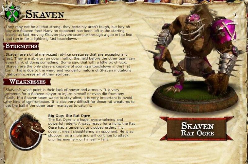 THE TEAMS - The Villians Skaven10