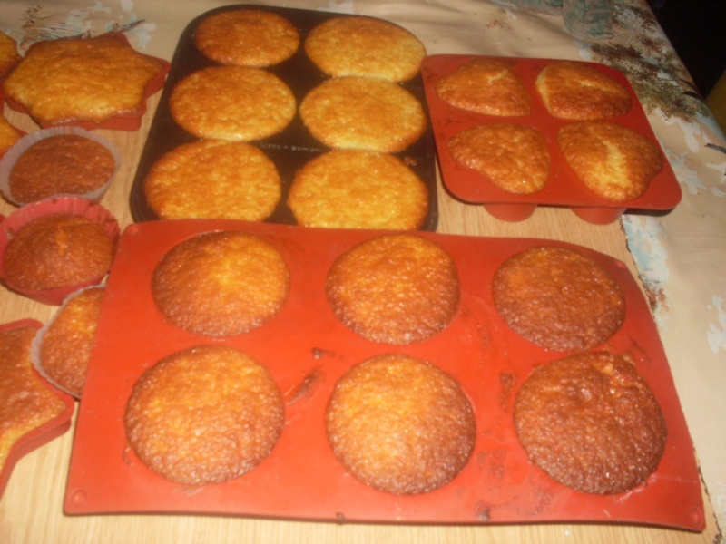 petits gâteaux aux yaourts.photo. Petits10