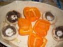 champignons & poivrons farcis.photo. 08_06_18