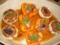 champignons & poivrons farcis.photo. 08_06_19