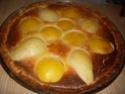 tarte aux poires,pêches Recett63